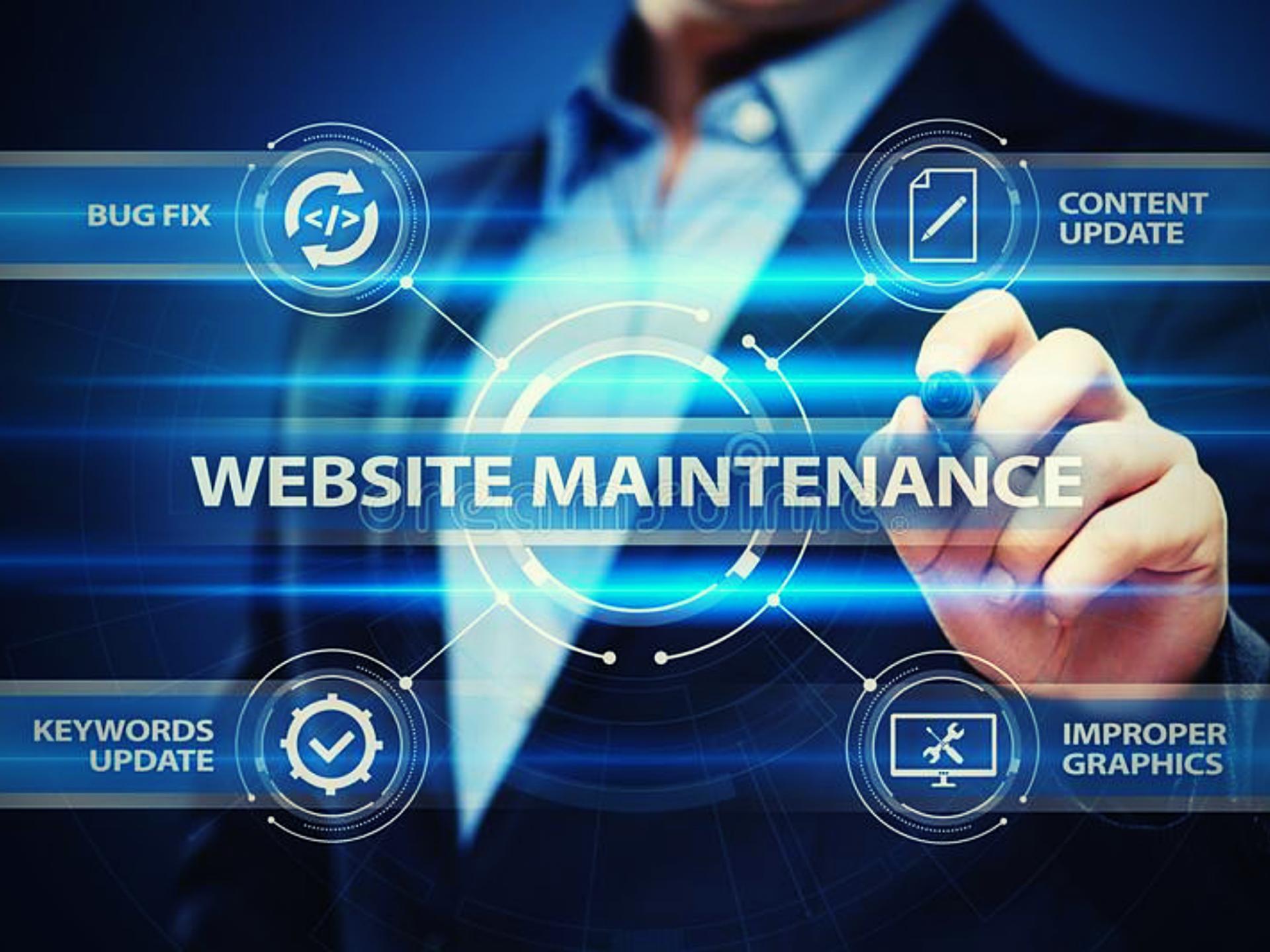 monthly website maintenance company calgary